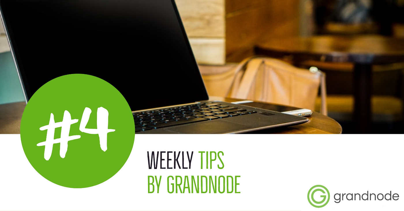 Picture for blog post Weekly Tips #4: Build and run the GrandNode with Docker for Linux containers
