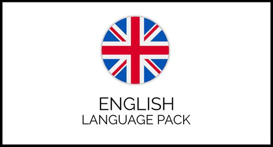 English Language Pack for GrandNode