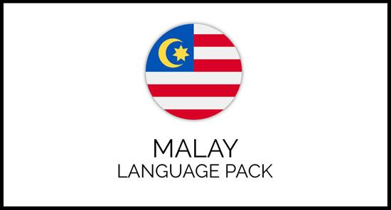 Malay Language Pack