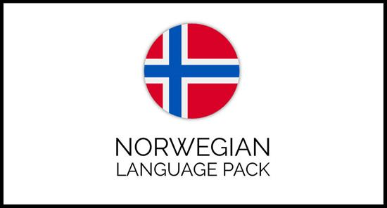 Norwegian language pack for GrandNode