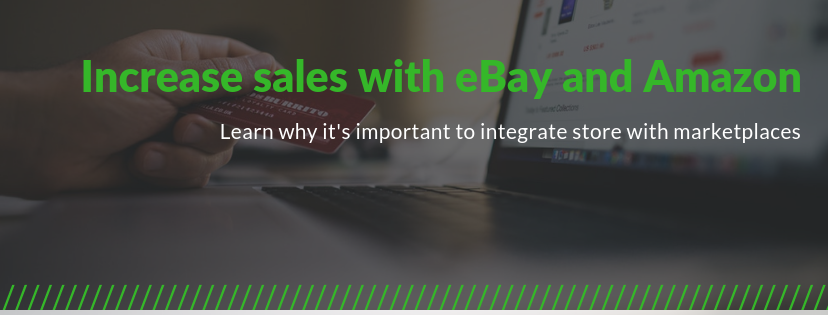 Picture for blog post Increase sales with eBay and Amazon