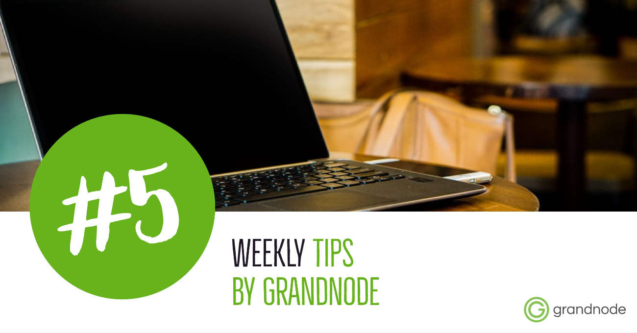 Picture for blog post Weekly Tips #5: Useful commands in Docker - GrandNode management
