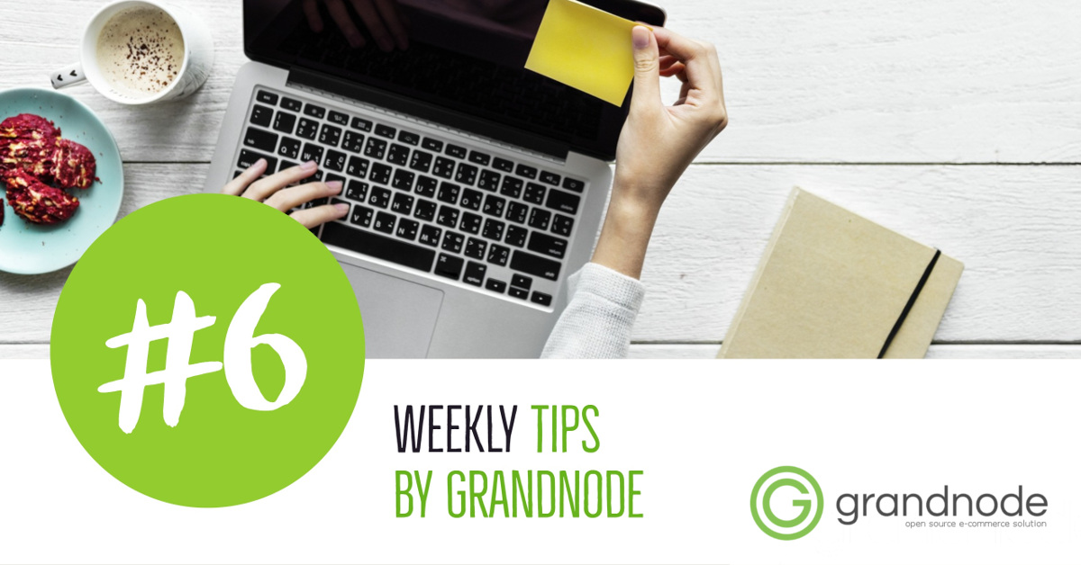 Picture for blog post Weekly Tips #6: Improving GrandNode performance