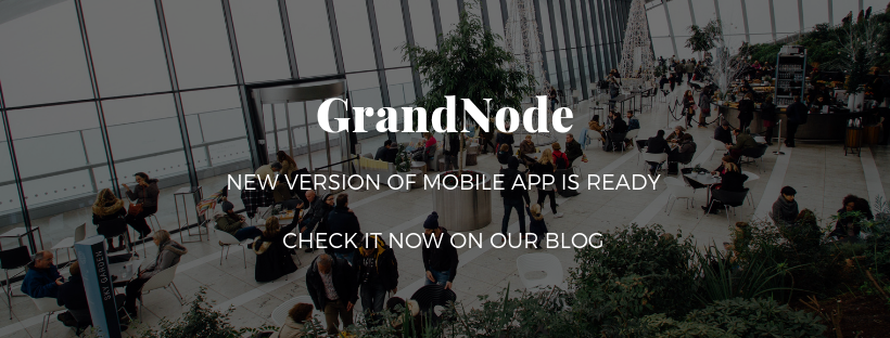 Picture for blog post What's new in GrandNode Mobile App