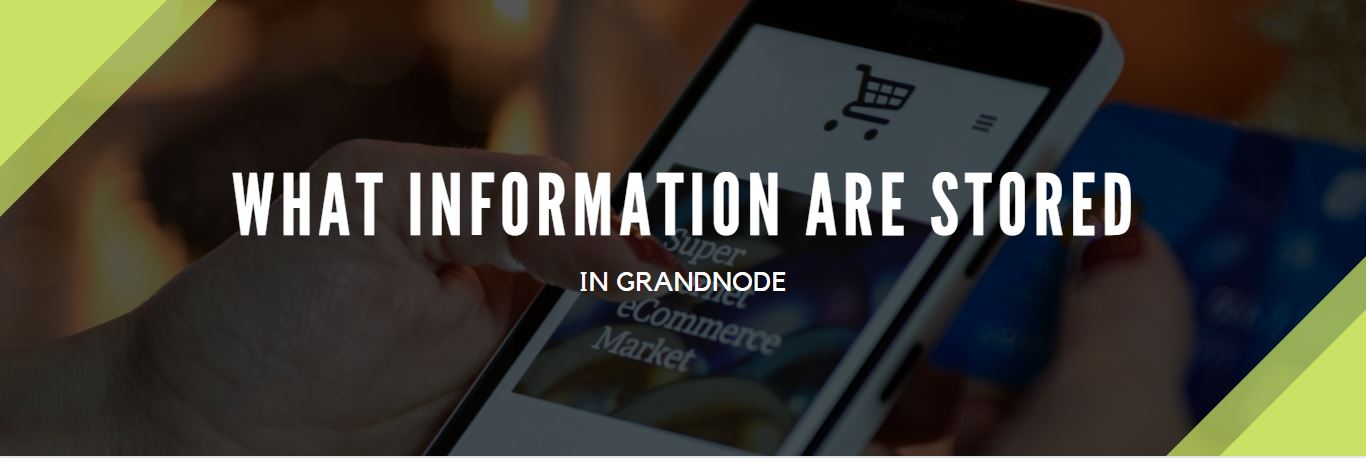 Picture for blog post What information are stored in GrandNode