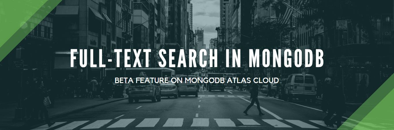 Picture for blog post MongoDB Full-Text Search on steroids
