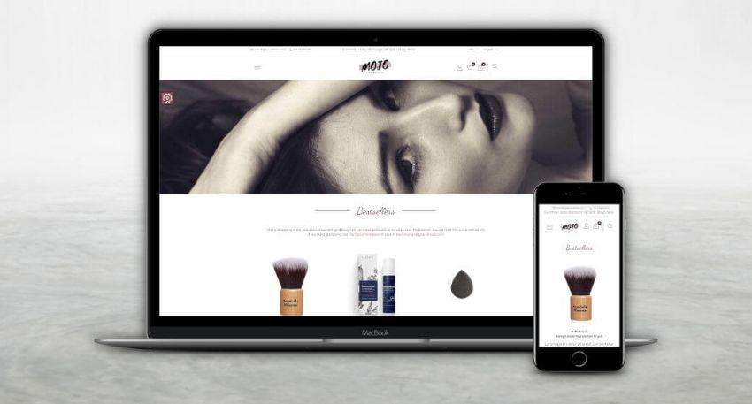 Cosmetics Theme preview screenshot