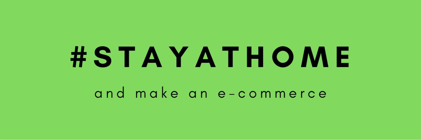 Picture for blog post #StayAtHome and get started with e-commerce easily