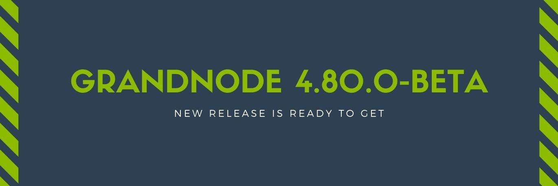 Zdjęcie dla posta New release: GrandNode 4.80.0-beta