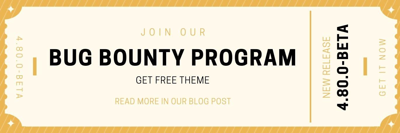 Zdjęcie dla posta Beta bug bounty program