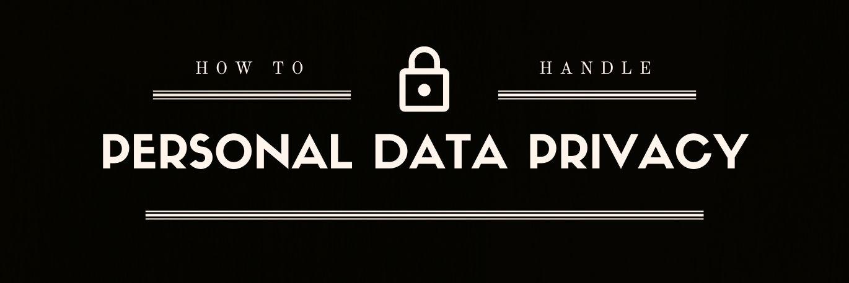 Zdjęcie dla posta How to handle personal data privacy?