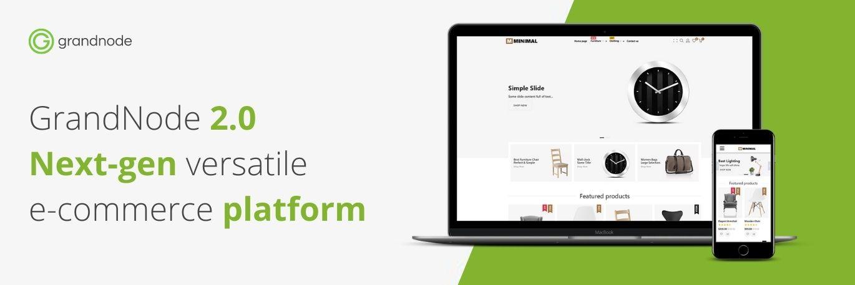 Zdjęcie dla posta GrandNode 2.0 - versatile e-commerce designed for the next-gen companies