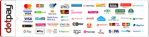 DotPay channel logos